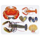 Richard Bramble Shellfish Large Rectangular Tablemat