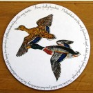 Mallard Ducks Tablemat by Richard Bramble