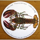 North American Lobster Tablemat by Richard Bramble