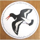 Oystercatcher Flying Tablemat by Richard Bramble