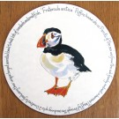 Puffin Standing Tablemat by Richard Bramble