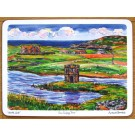 Scolpaig Tower, North Uist, Outer Hebrides Tablemat by Richard Bramble