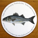 Sea Bass Tablemat by Richard Bramble