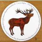 Stag Roaring Tablemat by Richard Bramble