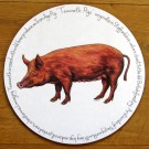 Tamworth Pig Tablemat by Richard Bramble