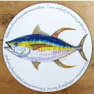 Tuna Tablemat by Richard Bramble
