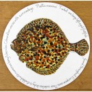 Turbot Tablemat by Richard Bramble