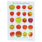 Richard Bramble Apple Day Borough Market Tea Towel
