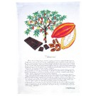 Cocoa Tree & Chocolate Tea Towel