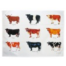 Richard Bramble Cows Tea Towel