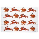 Richard Bramble Hares Tea Towel