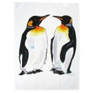 Richard Bramble King Penguins Tea Towel