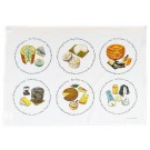 Richard Bramble Cheese Tea Towel