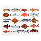 Richard Bramble North American SeafishTea Towel