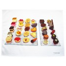 Petit Fours Tea Towel by Richard Bramble