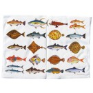 Richard Bramble Seafish Tea Towel