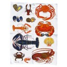 Richard Bramble Shellfish Tea Towel