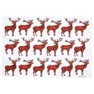 Richard Bramble Stags Tea Towel