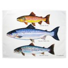 Richard Bramble Salmon & Trout Tea Towel