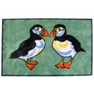 Puffins Turtlemat Floor and Bathmat by Richard Bramble