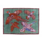 Turtle Mat - Game Birds Design Medium Size by Richard Bramble
