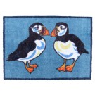 Richard Bramble Puffins Design Large Size Floor Mat