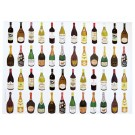 Richard Bramble Wine & Champagne Gift Wrapping Paper