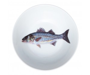 "Richard Bramble Sea Bass 13cm (5"") Bowl"
