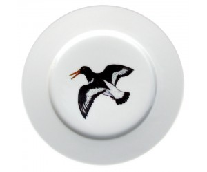 Richard Bramble Oystercatcher Flying 19cm plate