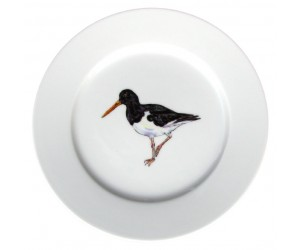 Oystercatcher Standing 19cm plate