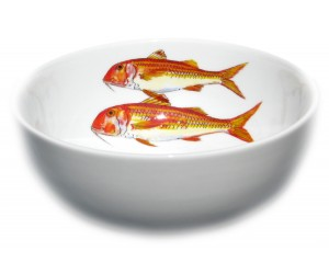 Richard Bramble Red Mullet 16cm Bowl