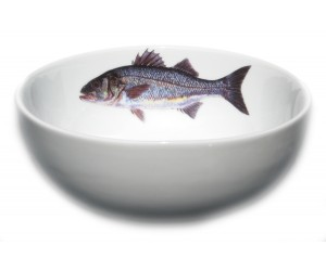 Richard Bramble Sea Bass 16cm Bowl