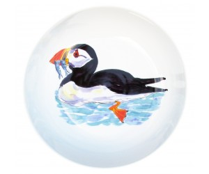 "Richard Bramble Puffin Swimming 24cm (9.5"") Bowl NEW"