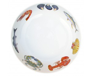 Richard Bramble Fish & Shellfish US East Coast 28cm Bowl