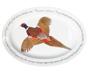 "Richard Bramble Ring-necked Pheasant 39cm Oval (15.4"")"