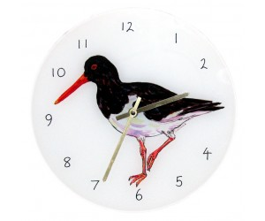 Richard Bramble Oystercatcher 30cm Clock