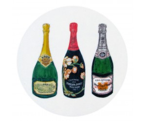 Richard Bramble Champagnes 2 Coaster
