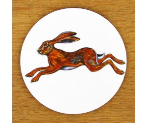 Richard Bramble Hare Leaping Coaster