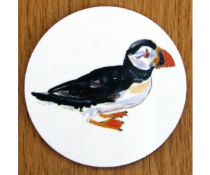 Richard Bramble Puffin Walking Coaster