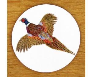 Richard Bramble Ring-necked Pheasant Coaster
