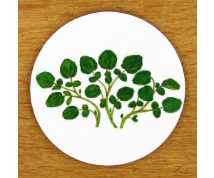 Richard Bramble Watercress Coaster