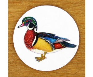 Richard Bramble Wood Duck Coaster