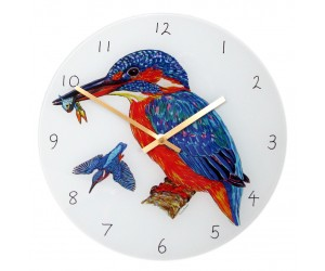 Richard Bramble Kingfisher 30cm Clock