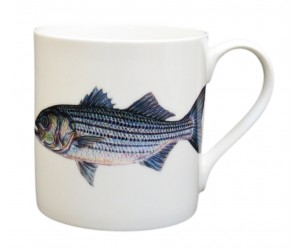 Richard Bramble Striped Bass Mug (large size)
