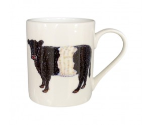 Richard Bramble Belted Galloway Cow Small Mug