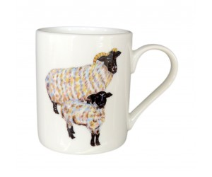 Richard Bramble Blackfaced Sheep Small Mug