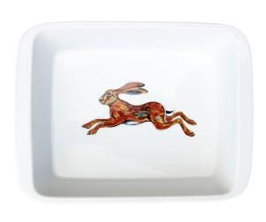 Richard Bramble Hare Medium Roaster & Baking Dish