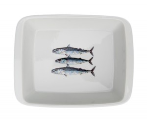 Richard Bramble Mackerel Medium Roaster & Baking Dish