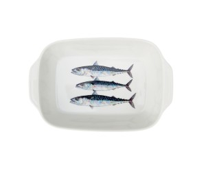 Richard Bramble Mackerel Small Roaster & Baking Dish