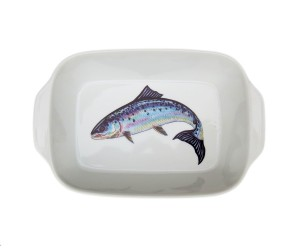 Richard Bramble Salmon Small Roaster & Baking Dish